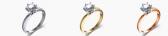 Beyaz, yeşil (sarı), kırmızı altın nedir? Beğendiğim bir mücevheri farklı altın renginde yapabilir misiniz?